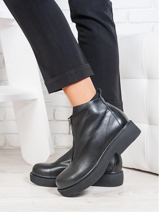 Ботинки Ameno натуральная кожа  6697-28