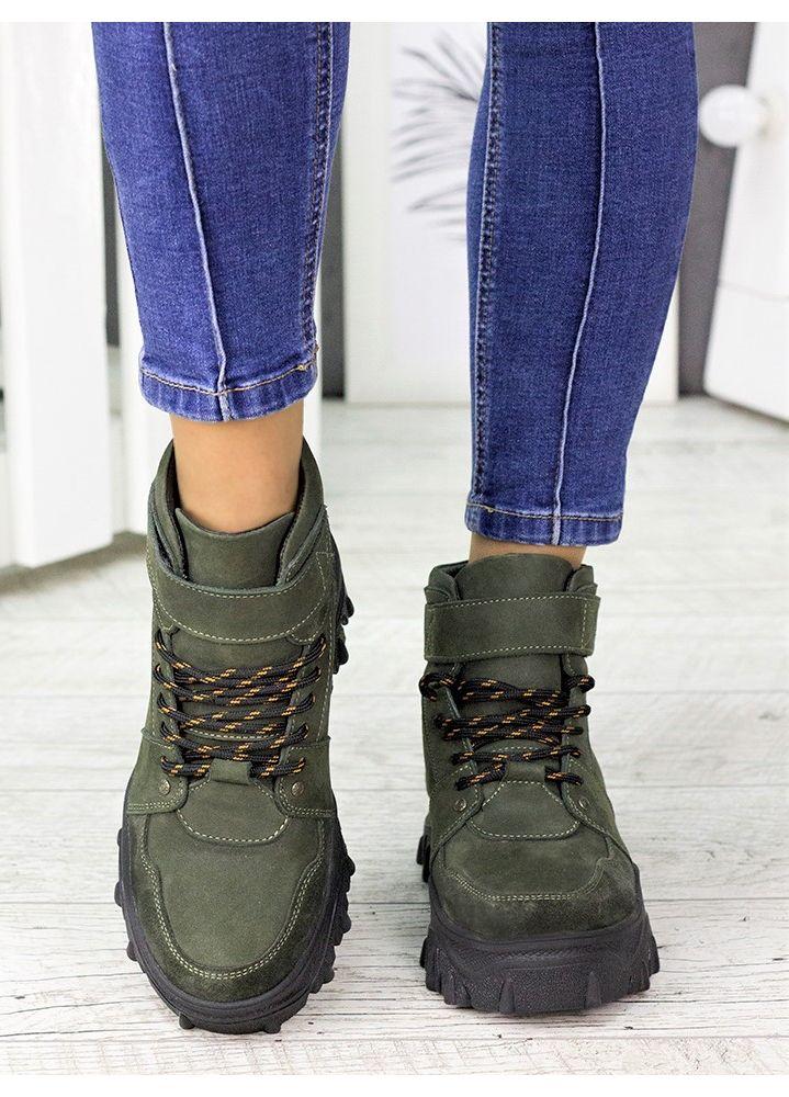 Ботинки кожаные Sport 7217-28