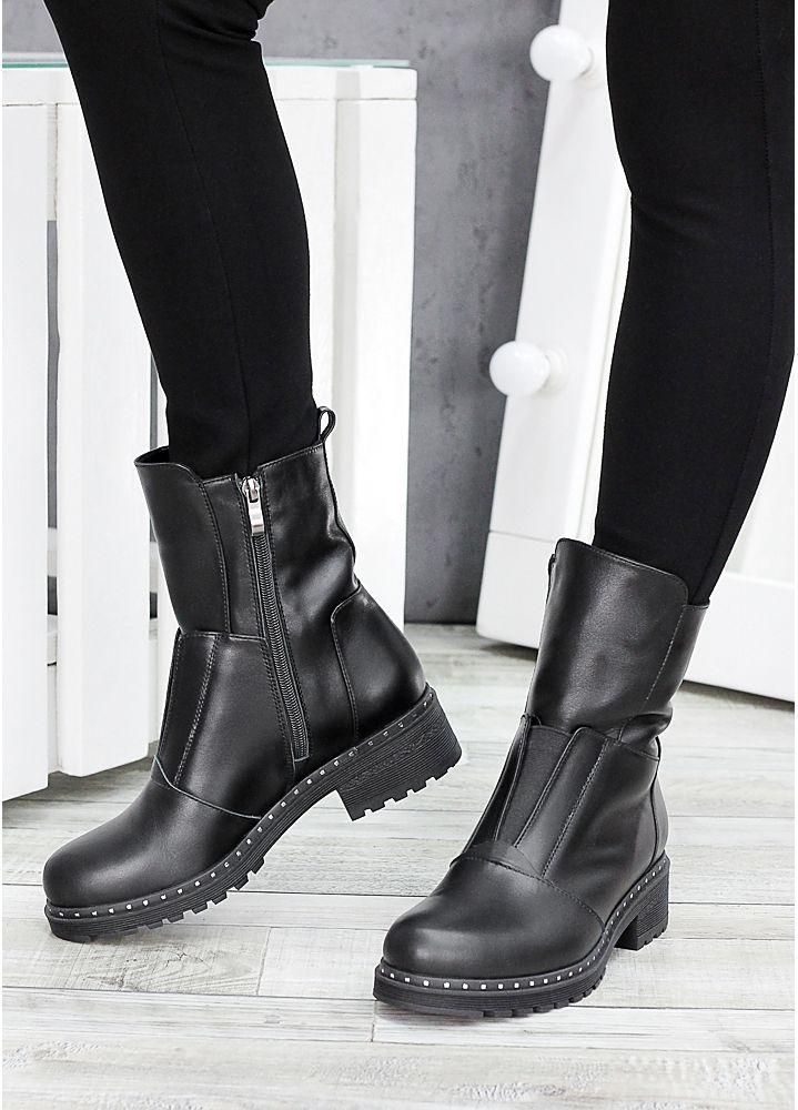 Ботинки кожаные Кейт 7531-28