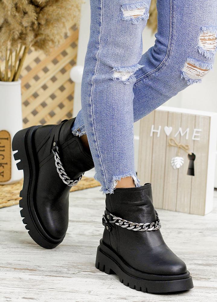 Ботинки женские кожаные 7805-28