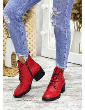 Ботильйони червона шкіра Lolita 7824-28