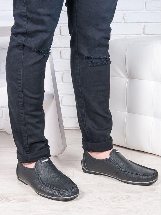 Мужские кожаные мокасины 6881-28
