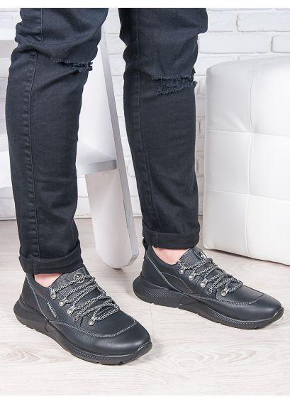 Чоловічі кросівки шкіра флотар 6886-28