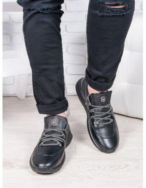 Чоловічі шкіряні кросівки 6888-28