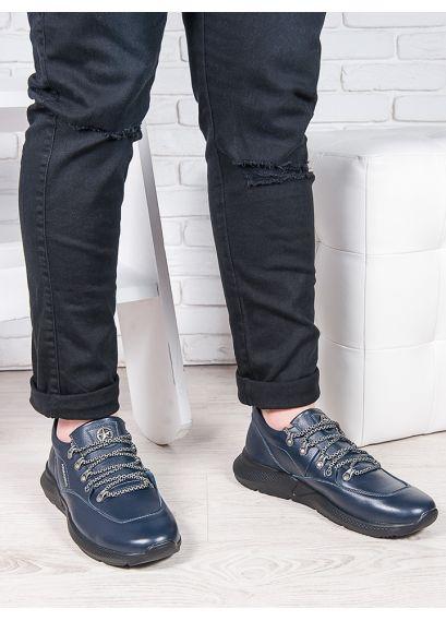 Чоловічі шкіряні кросівки 6909-28