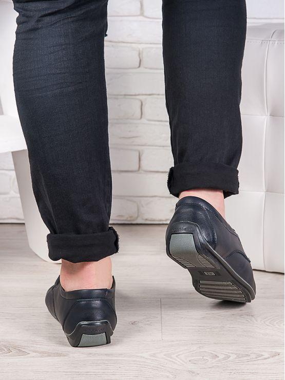 Мужские кожаные мокасины 6989-28