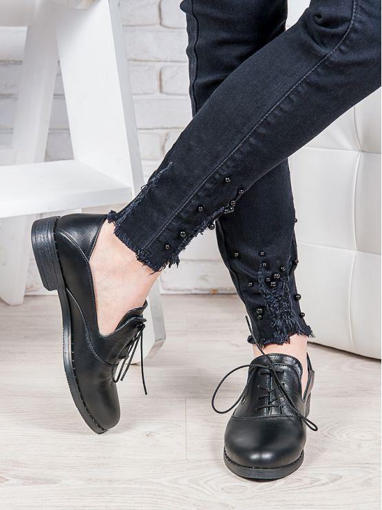 Туфли кожаные Адриана 6851-28