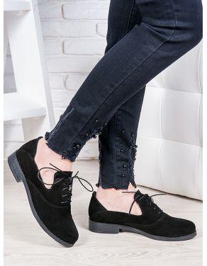 Туфлі замшеві Адріана 6852-28