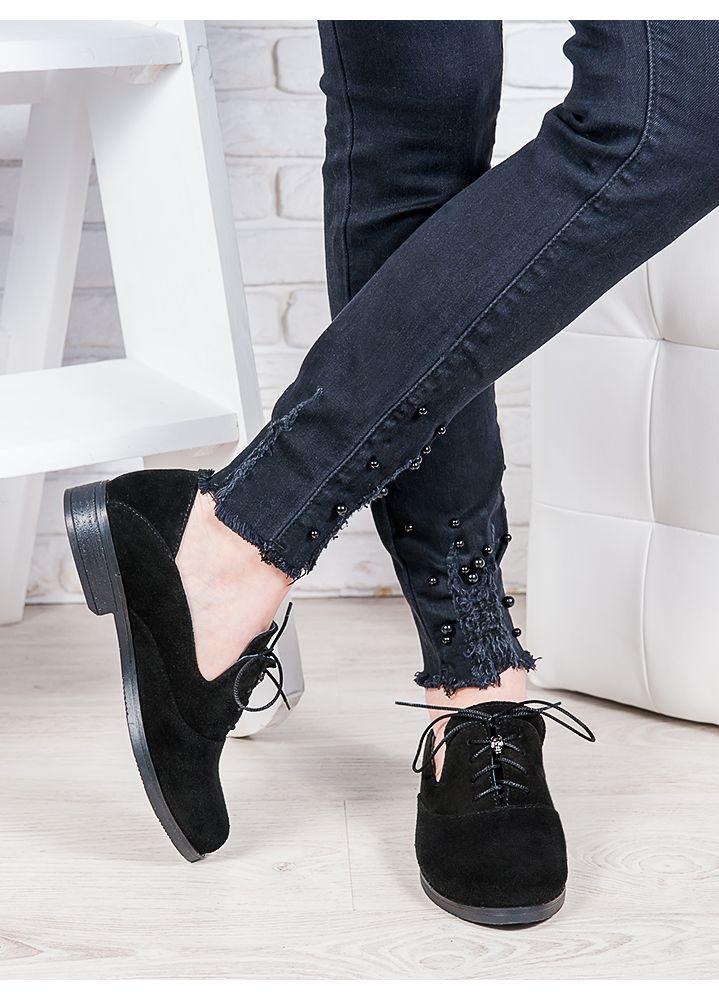 Туфли замшевые Адриана 6852-28