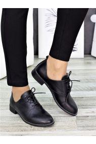 Туфлі чорна шкіра Евелін 7273-28