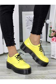 Туфлі броги MART!INS жовті 7285-28