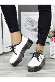 Туфлі броги MART!INS білі 7286-28