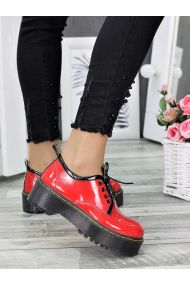 Туфлі броги MART!INS червоні 7288-28