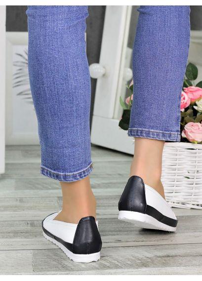Туфли мокасины летние кожаные 7326-28