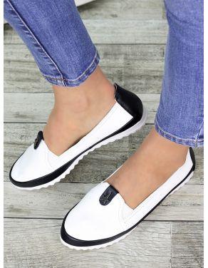 Туфлі мокасини шкіряні 7326-28