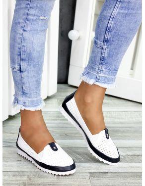 Туфлі мокасини шкіряні 7450-28