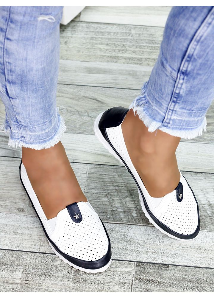 Туфли мокасины кожаные 7450-28