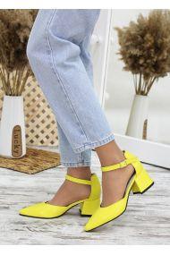 Туфлі Mimoza жовта шкіра 7688-28