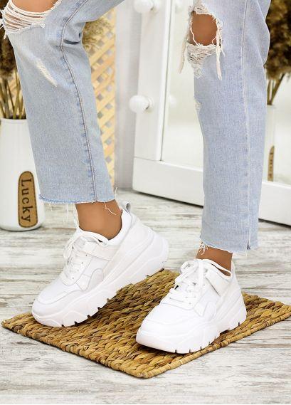Кросівки білі лак шкіра 7710-28