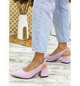 Туфлі фіалка замша Molly 7711-28