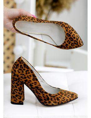 Туфлі АКЦІЯ леопард шкіра 7745-28