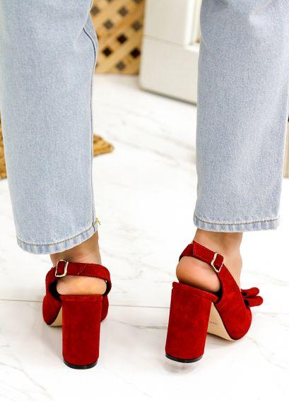 Туфлі Bant червона замша 7748-28
