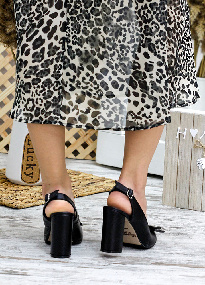 Туфлі Bant чорна шкіра 7766-28
