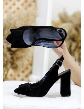 Туфлі Bant чорна замша 7767-28