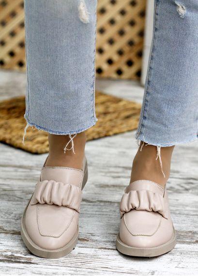 Туфлі беж шкіра Derbi 7778-28