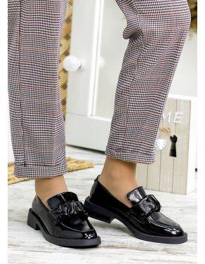 Туфлі чорна лак-шкіра Derbi 7791-28